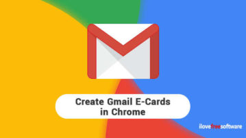 Create Gmail E-Cards in Chrome
