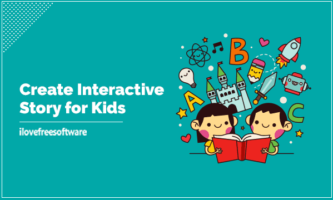 Create Interactive Story for Kids with This Web App: Ikidoo