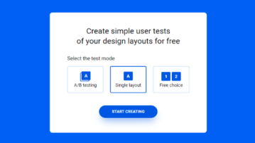 Create User Tests for Design Layouts Free with this Website