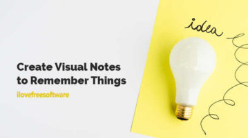 Create Visual Notes to Remember Things
