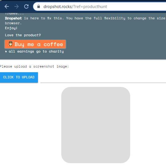 Dropshot interface