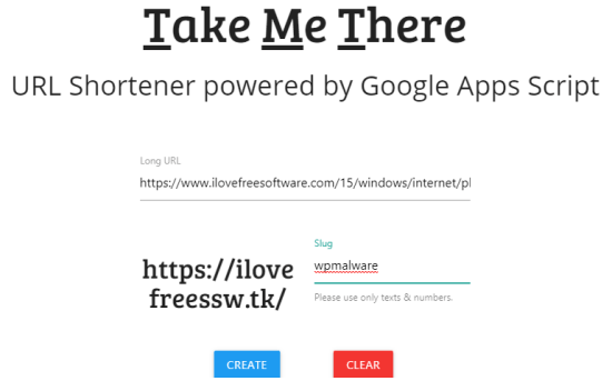 Free URL Shortener using Google Apps Script and GitHub Pages
