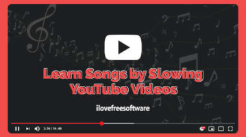 Learn Songs by Slowing YouTube Videos