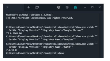 Nirsoft Utility to Read CSV, TSV Data from Output of CLI tools