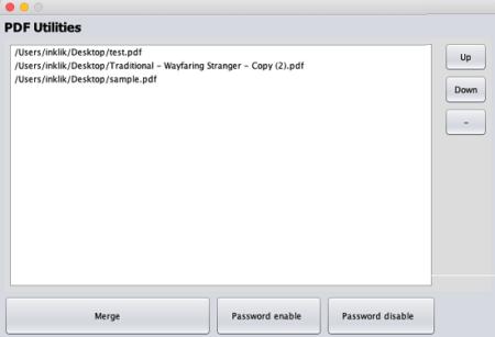 PDFUtil PDF Merger Software