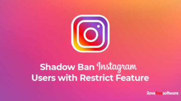Shadow Ban Instagram Users with Restrict Feature