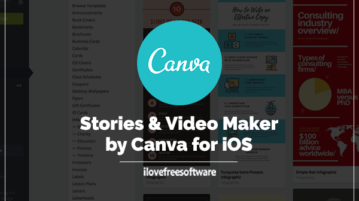 Stories & Video Maker by Canva for iOS
