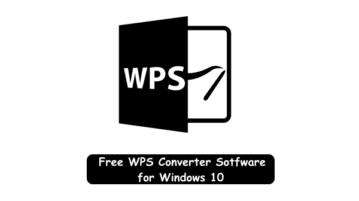 WPS Converter for Windows