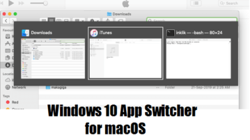 alt-tab switcher like Windows 10 in MAC