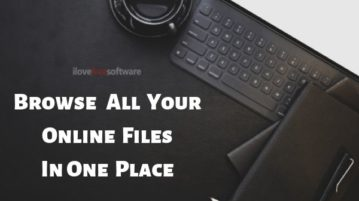 Browse Files from Different Online Platforms in One Place: Workona