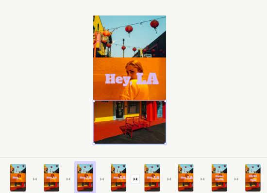 create slides to make a story