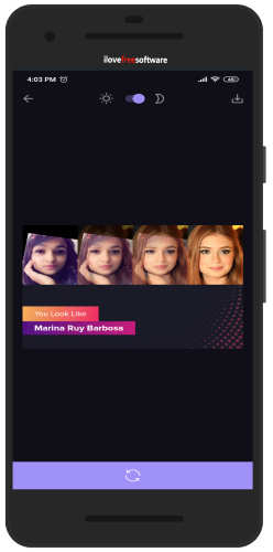 find your look alike celebrity with Gradient app