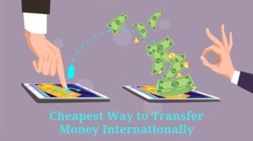 Find Cheapest Way to Transfer Money Internationally