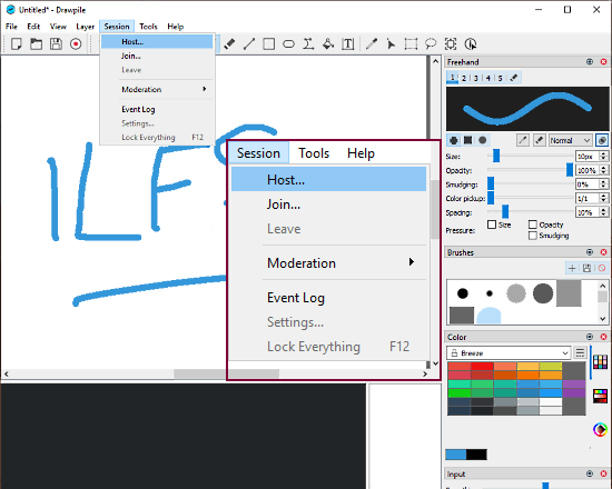 free collaborative drawing software