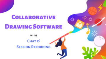 Free Collaborative Drawing Software with Chat, Session Recording