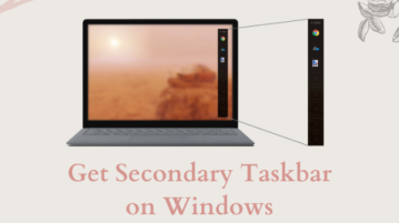 Free Open Source Secondary Taskbar for Windows 10: Switch
