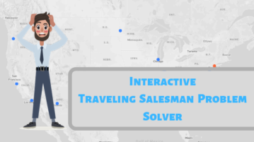 Free Interactive Traveling Salesman Problem Solver for Any Location on Map