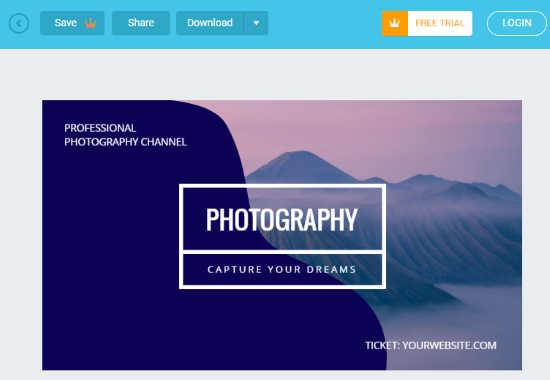 online blog banner maker
