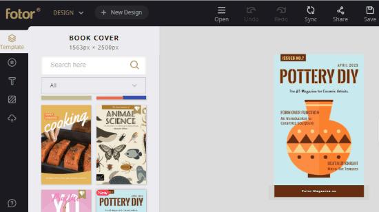 online magazine cover maker