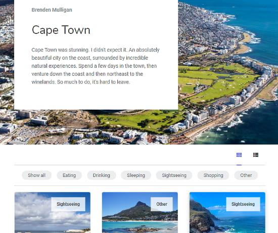 online travel guide maker