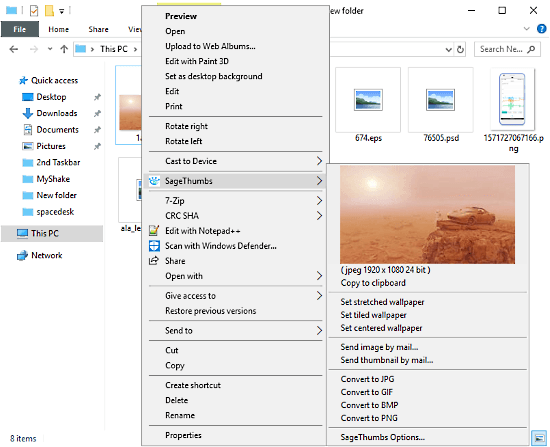preview any image file format
