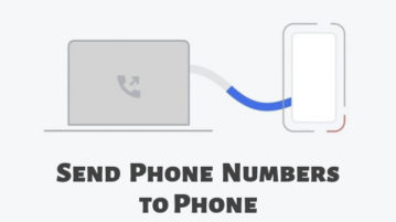 Send Phone Numbers from Chrome Desktop to Android Phone in 1-Click