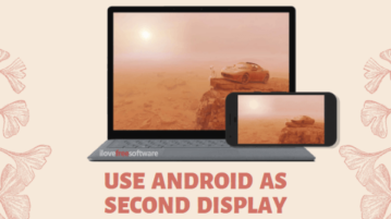 How to Use Android as Second Display for PC Free?