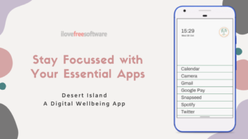 Use Your Essential Apps to Avoid Distraction: Desert Island