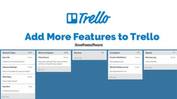 Add More Features to Trello