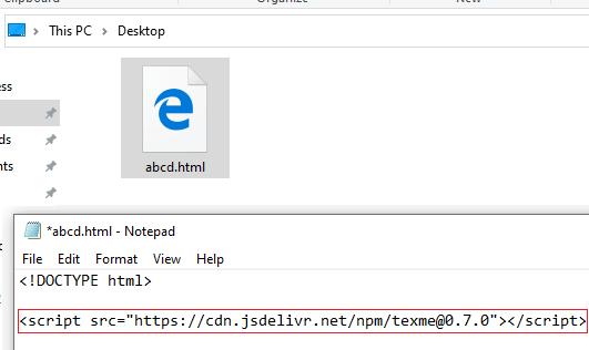 Add Script File