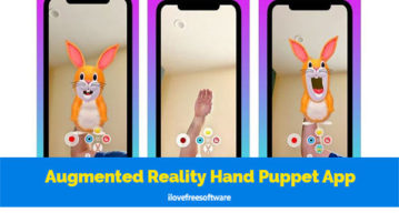 Augmented Reality Hand Puppet App