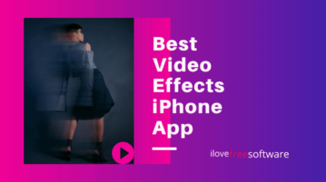 Best Video Effects iPhone App
