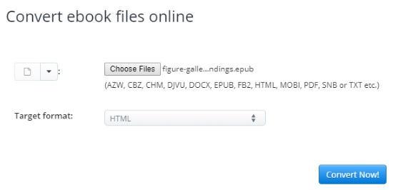 Convert EPUB To HTML Online