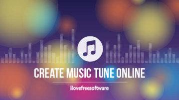 Create Music Tune Online