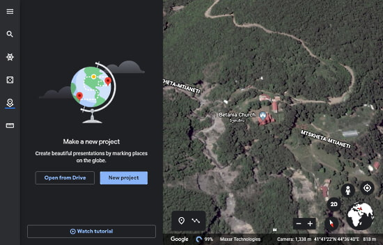 How to Create Tours in Google Earth Web Version?1