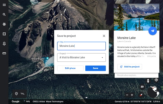 How to Create Tours in Google Earth Web Version?3