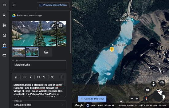 How to Create Tours in Google Earth Web Version?5