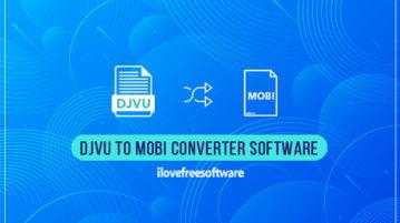 DJVU to MOBI converter software