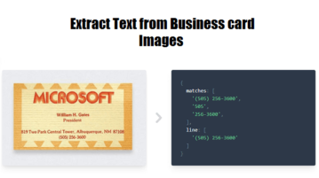 Extract Text from Images using OCR + Regex