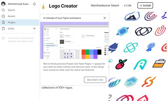 Figma logo creator plugin