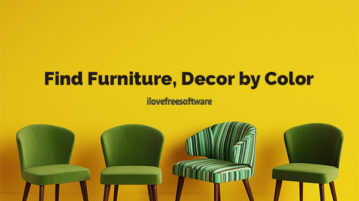 Find Furniture, Decor by Color