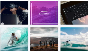 Free CSS Library to Create Custom Image Hover Animations