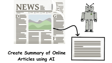 Generate Summary of Online Article with this Free AI based API