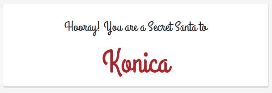 Online Secret Santa Planner