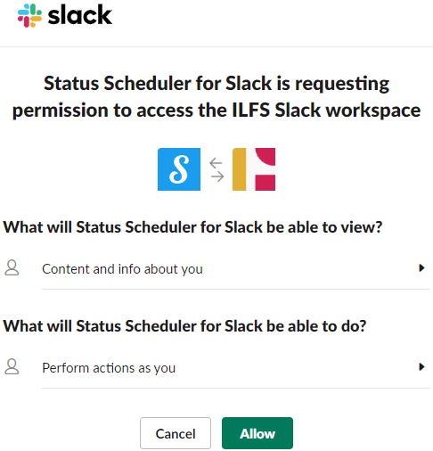 Schedule Slack Status to Automatically Change on Pre-Defined Schedule
