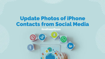 Update Photos of iPhone Contacts from Social Media