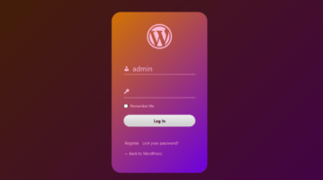 WordPress login page customizer to customize login page free