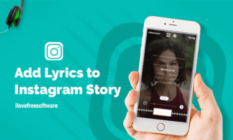 How to Add Lyrics to Instagram Story?