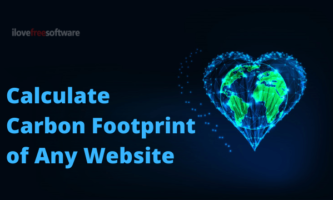Calculate Carbon Footprint of Website to See Impact of Website on Planet