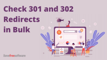 Free Bulk URL Checker to Check 301 and 302 Redirects in Bulk